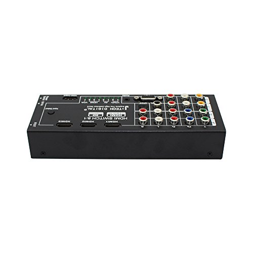 J-Tech Digital Latest Generation Multi-Functional HDMI Audio Extractor with 8 Inputs to 1 HDMI Output with Optical / Coaxial 5.1 Channel Support 3D & Surround Sound by J-Tech Digital (Image #3)