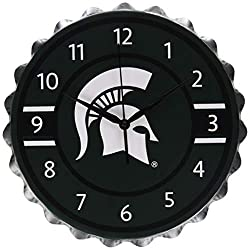Michigan State Bottlecap Clock