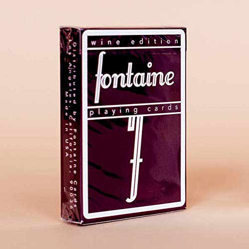 Fontaine Wine Edition Playing Cards Rare Limited Edition Deck by Zach Mueller