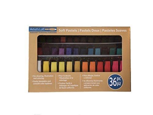 Soft Pastel Set - Artist's Loft Fundamentals Soft Pastels 36pc