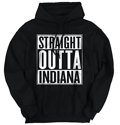 Straight Outta Indiana State Funny Movie T Shirts Gift Ideas Hoodie Sweatshirt