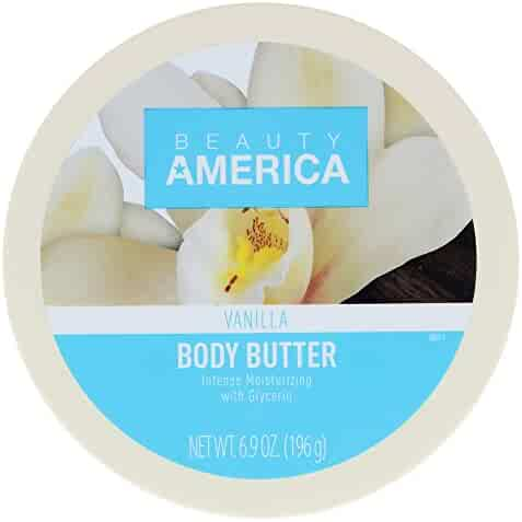 Beauty America Intense Moisturizing Body Butter - Vanilla, 6.9 Ounce