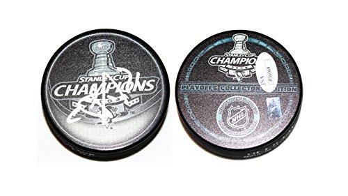 Evgeni Malkin Signed Pittsburgh Penguins MVP 2009 Stanley Cup Champions Puck JSA Cert by Pittsburgh Penguins