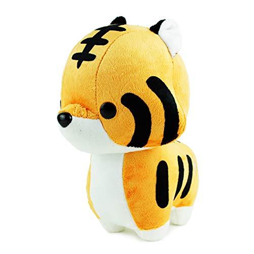 Bellzi Orange Tiger Stuffed Animal Plush Toy - Adorable Toy Plushies and Gifts! - Tiggri