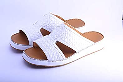 AL NASHAMA White Comfort Sandal For Men