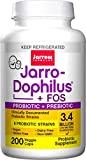 Jarrow Formulas Jarro-dophilus and FOS+E211, For Intestinal and Immunal Support, 3.4 Billion cells per Capsule, 200 Capsules