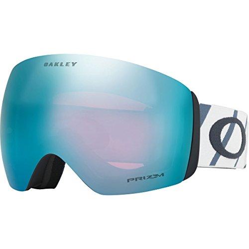Oakley Flight Deck Snow Goggles, Hazard Bar Slate Ice, - Womens Oakley Goggles Ski