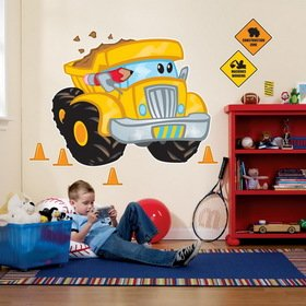 Road Cone Costume (Construction Pals Giant Wall Decals)