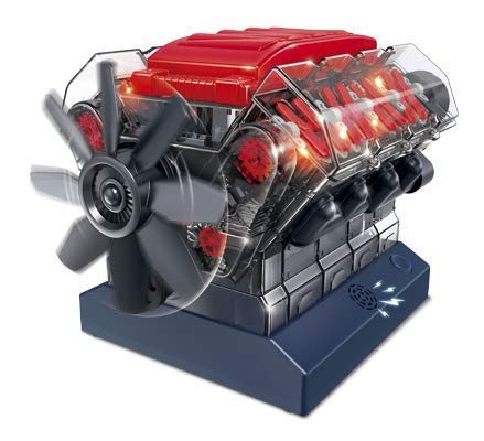 OWI Robotics Vroom! Stem V8 Model Combustion Engine, Multi from OWI Robotics