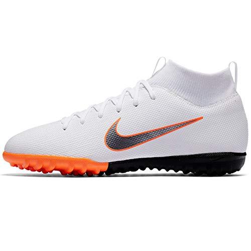 (NIKE Junior SuperflyX 6 Academy Turf Shoes (5 M US Big Kid))