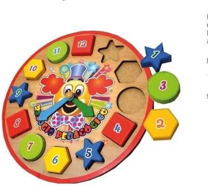 Relógio Pedagógico Colorido para Crianças - Educação Certa!