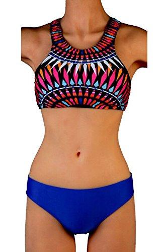 Leefi Leisure Printed Fission Swimsuit