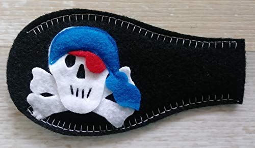 Eye Patch - Pirate (covering LEFT eye) from Patch Me