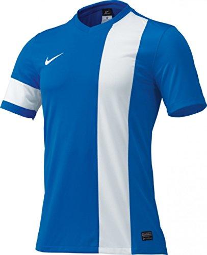 等々広げる散るNIKE ナイキ DRI-FIT YA S/S ストライカー III 半袖ゲームシャツTシャツ 160サイズ(150-160cm) サッカー スポーツウェア 520565 ロイヤルブルー×ホワイト 国内正規品