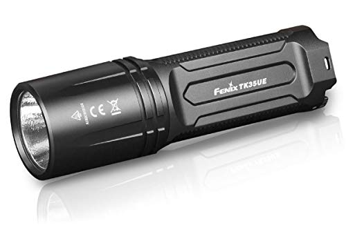 EdisonBright FENIX TK35 2018 Ultimate Edition UE 3200 Lumen LED Tactical/Police Flashlight with BBX3 battery carry ()