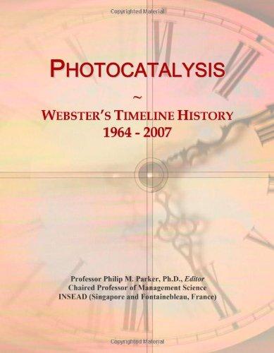 Photocatalysis: Webster's Timeline History, 1964 - 2007