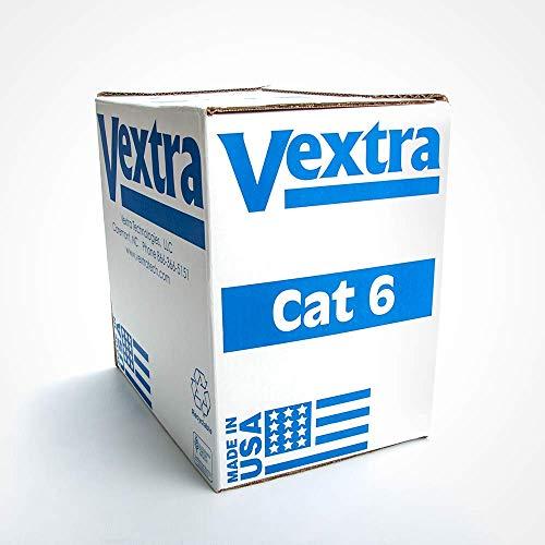 Vextra(r) Vc64b Blue Cat-6 Cable, 1,000ft 15.30in. x 14.80in. x 10.30in. from Vextra