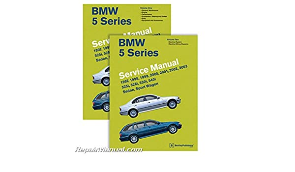 bmw 5 series e39 service manual 1997 1998 1999 2000 2001 2002 rh amazon com 2001 BMW 7 Series 2008 BMW 5 Series