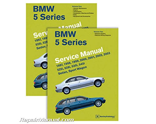 BMW 5 Series (E39 Service Manual: 1997, 1998, 1999, 2000, 2001, 2002, 2003: 525i, 528i, 530i, 540i, Sedan, Sport Wagon by Bentley Publishers published by Bentley Publishers (2011)