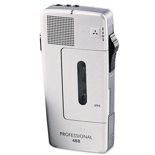 Philips LFH048800B - Pocket Memo 488 Slide Switch Mini Cassette Dictation Recorder