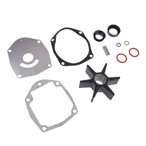 MagiDeal Water Pump Repair Kit Impeller Replacement 47-43026K06 for Mercury Mariner 50-300hp Outboard (Parts Force Outboard)