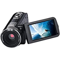 Digital Video Camera 24MP LCD Touch Screen Camcorder DV 1080P Full HD Camera with Night-Shot