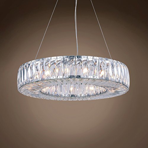 Contemporary Spiridon Ring 15 Light 26
