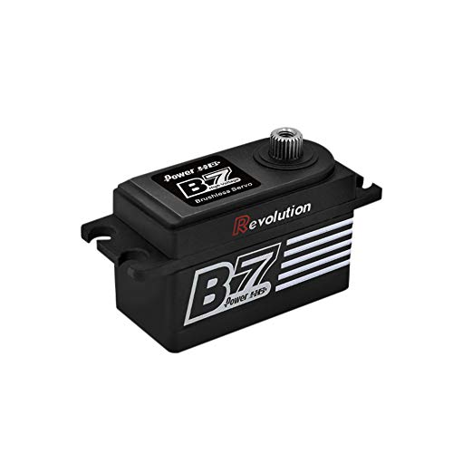 Meijunter RC Servo HV Brushless Motor - 1/10 1/12 1/8 RC Coches Camion Helicoptero Barco Buggy Titanio Engranaje Digital...