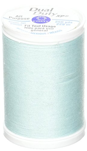 Coats Thread & Zippers Dual Duty XP General Purpose Thread, 250-Yard, Caribbean Sea - Caribbean Pillowcase