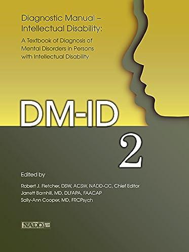 amazon com diagnostic manual intellectual disability 2 dm id a rh amazon com Moderate Intellectual Disability Severe Intellectual Disability