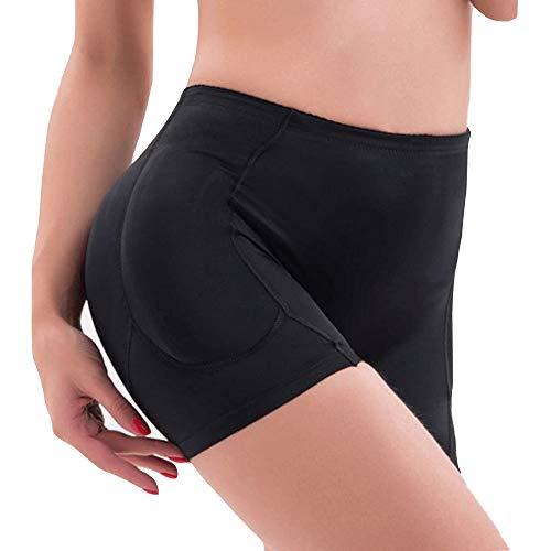 (Women Butt Lifter, 4 Pads Shapewear Enhancer Control Panties Body Shaper Underwear (4XL,)