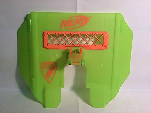 NERF Dart Gun N-Strike GREEN Blast Shield Tactical Stampede