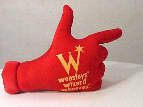 Harry Potter Weasleys' Wizard Wheezes Plush Hand Sign