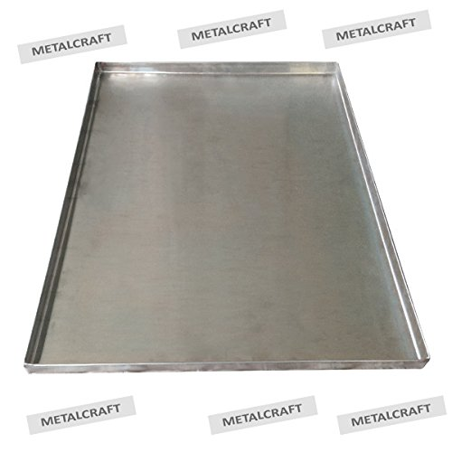 Metal Replacement Tray for Dog Crate - Heavy Duty - Chewproof - Kennel Replacement Pan - Chew Proof & Crack Proof Pet Kennel Tray - Replacement Pan for Midwest Central ()