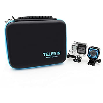 Amazon.com: TELESIN Bolsa impermeable funda de transporte de ...