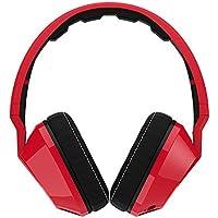 Skullcandy Crusher Red/Black   Over Ear Headphones w/Amp & Mic (D132)