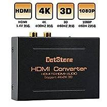 HDMI切替器 双方向 hdmiセレクター 4K/3D/1080p対応 hdmi分配器 ...