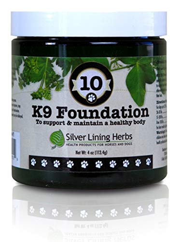 Silver Linings Herbs #10C K9 FOUNDATION POWDER 4OZ Review