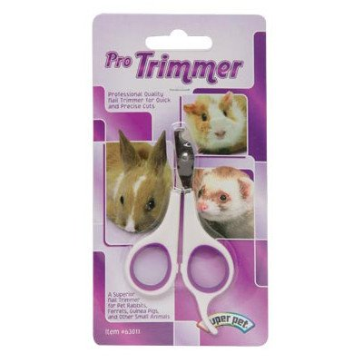 Super Pet Kaytee Pro Nail Trimmer - Small Animal Nail Trimmer - Pack of 4