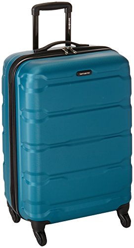 (Samsonite Checked-Medium, Caribbean Blue)