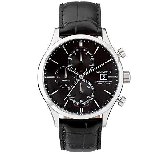 d2265a3bebe7 Gant Reloj Multiesfera para Hombre de Cuarzo con Correa en Cuero W70401   Amazon.es  Relojes