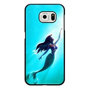 Caitin Disney Princess The Little Mermaid Cell Phone Cases Cover for Samsung Galaxy S6 (Laster Technology) by runtopwell