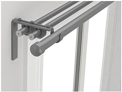 IKEA Triple – Combinación varilla, plata color 82 5/8 – 151 – 5/8,