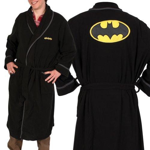 Batman Unisex Fleece Bathrobe - Currently unavailable.