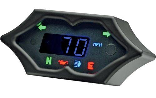 DAKOTA DIGITAL(ダコタデジタル) 5000 デジタルスピードメーター SPIKE BLACK ハーレー用   B078SQJH4C