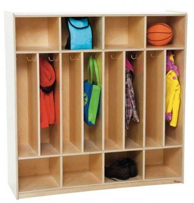 "Wood Designs WD51208(8) Baltic Birch Plywood Section Space-Saver Locker 15x48x49"" (H x W x D)"