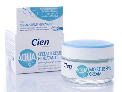 Cien Aqua Creme-Gel, with Glycerin and Panthenol - 50 - Aqua Day Moisturizer