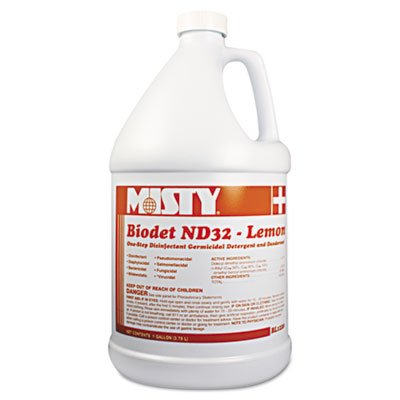 mon Fragrance Biodet ND32 Liquid Disinfectant Deodorizer, Gallon Bottle ()