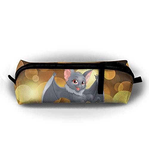 CQCJHHXH Halloween Cartoon Bat Pencil Case Bag Stationery Pouch Bag for Kids,School Student Stationery]()