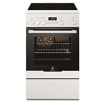 4407006027dab Electrolux EKI54551OW Cuisinière Plaque avec zone à induction A Blanc four  et cuisinière - Fours et